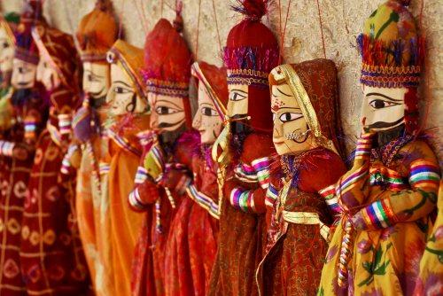 Jaisalmer puppets